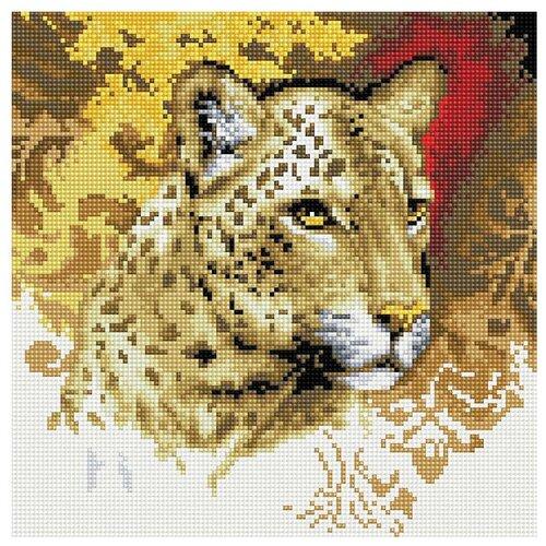 Белоснежка Набор алмазной вышивки Портрет леопарда (273-ST-S) 30х30см