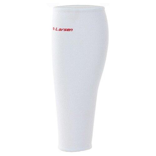 Фото - Защита голени Larsen 6822, р. S, белый защита запястий larsen 6106 р s