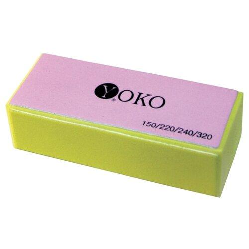 Yoko Блок-полировщик, 150/220/240/320 грит желтый