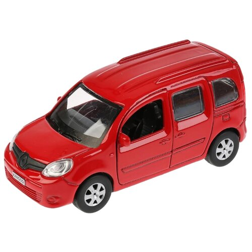 Легковой автомобиль ТЕХНОПАРК Renault Kangoo (KANGOO-SL/BK/RD) 12 см красный внедорожник технопарк renault koleos koleos bu gn sl bk 12 см черный