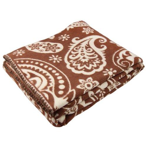 Одеяло ARLONI Восток хлопковый, всесезонное, 170 х 205 см (коричневый) одеяло relax wool всесезонное цвет светло бежевый 140 х 205 см