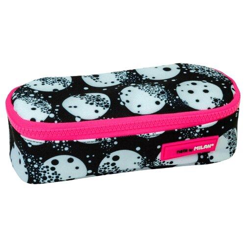 Купить MILAN Пенал-косметичка Moon (081130MM) черный/розовый, Пеналы