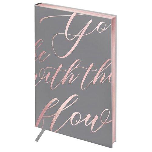 Ежедневник Greenwich Line Vision. Powder pink недатированный, искусственная кожа, А5, 136 листов, розовый