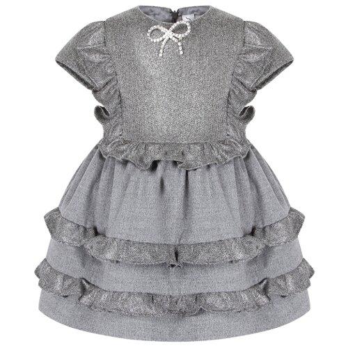 Фото - Платье Simonetta размер 92, grigio/argento simonetta tiny pубашка