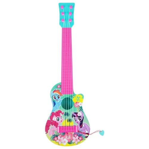 РОСМЭН гитара 34815 розовый/голубой