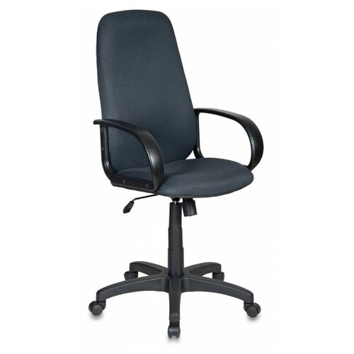 Компьютерное кресло Бюрократ CH-808AXSN, обивка: текстиль, цвет: серый TW-12