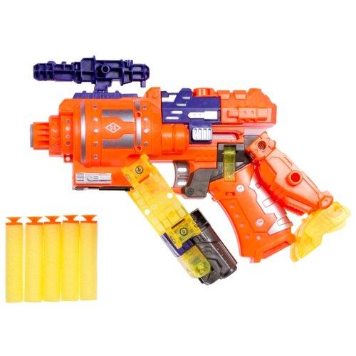 Купить Трансформер 1 TOY Трансботы Звездный арсенал - Атомик Т16334 красный, Роботы и трансформеры