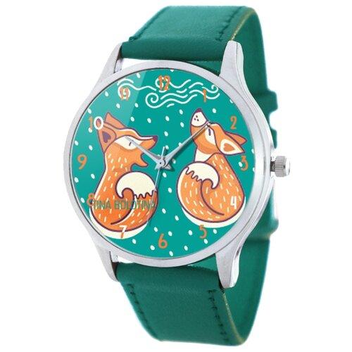 Наручные часы TINA BOLOTINA Лисички Extra будильник tina bolotina лондон awo 009