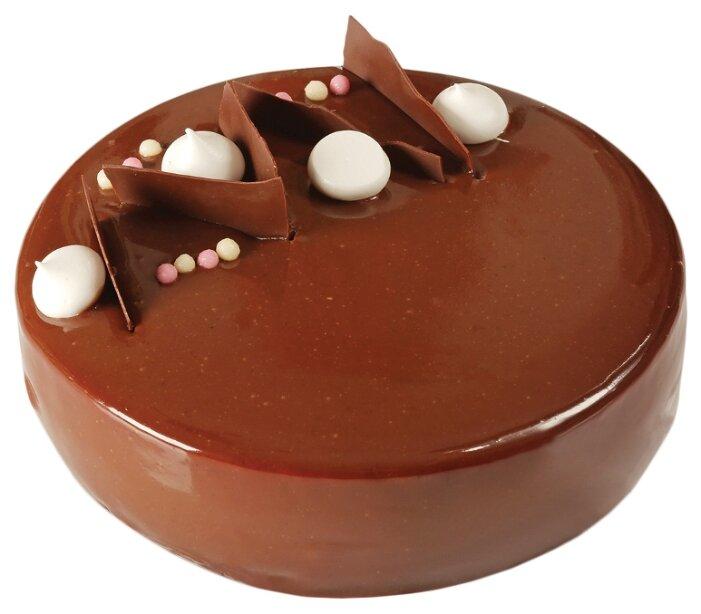Торт бисквитный Три шоколада Венский цех, 900 г