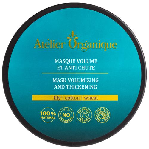 Atelier Organique Маска для объема и против выпадения волос, 250 мл atelier organique кондиционер для объема и против выпадения волос 300 мл