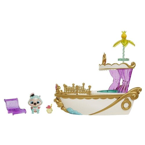 Игровой набор JAKKS Pacific Королевские питомцы Отто и королевская яхта 34384 набор игровой jakks pacific домик с фигуркой смурфика