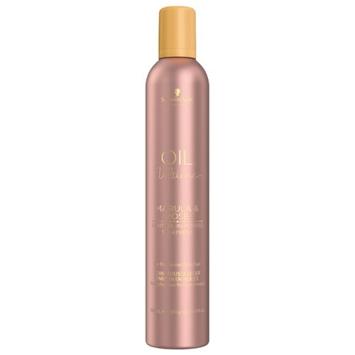 Oil Ultime Маска-мусс Lignt-Oil-in-Mousse, 500 мл schwarzkopf маска мусс oil ultime lignt oil in mousse 500 мл