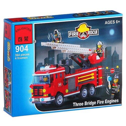 Купить Конструктор Qman Fire Rescue 904 Пожарные машины, Конструкторы