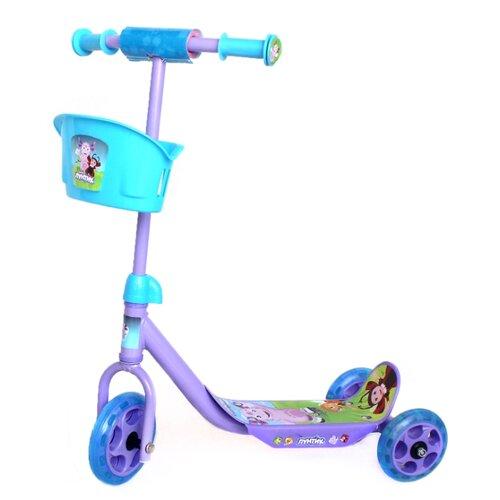 Кикборд Shantou City Daxiang Plastic Toys ST-PL-LNT Лунтик фиолетовый/голубойСамокаты<br>