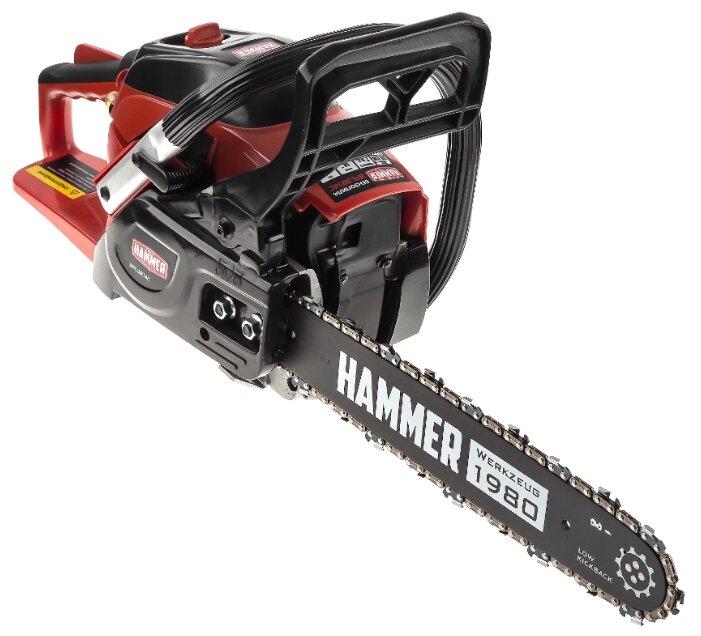 Бензиновая пила Hammer BPL3814C 1470 Вт/2 л.с — купить по выгодной цене на Яндекс.Маркете