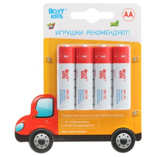 Батарейка Roxy kids Ultra Digital Premium AA 4 шт блистер