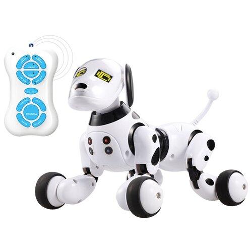 Интерактивная игрушка робот BlueSea Robot Dog собака 9007A белый/черный фото