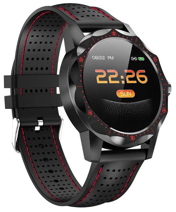 Купить Умные часы ColMi SKY1 черный/красный по низкой цене с доставкой из Яндекс.Маркета (бывший Беру)