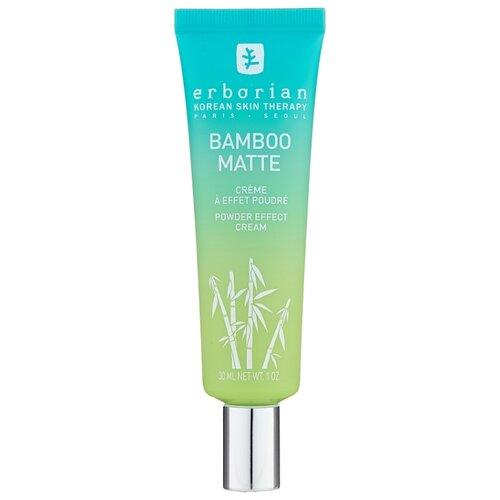 Erborian Bamboo Matte Powder Effect Cream крем для лица с бамбуком, 30 мл крем erborian бамбук glow крем для лица объем 30 мл