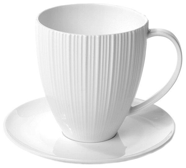 Fissman Чашка с блюдцем Elegance 400 мл