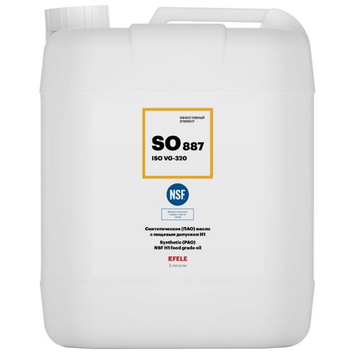 Редукторное масло EFELE SO-887 VG-320 с пищевым допуском (5 л)