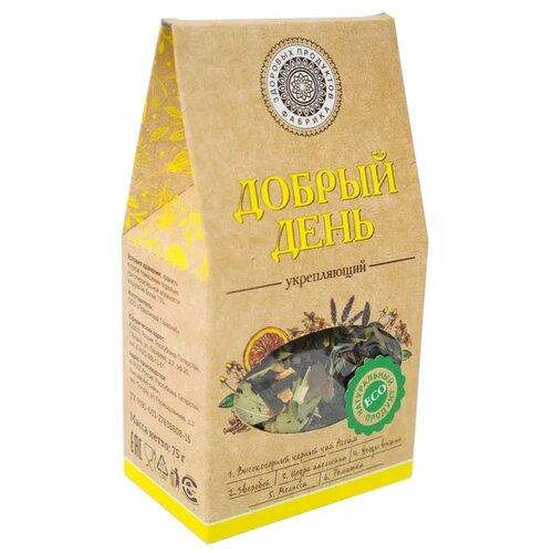 Чай черный Фабрика здоровых продуктов Добрый день Укрепляющий, 75 гЧай<br>