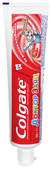 Зубная паста Colgate 50мл детская Доктор Заяц клубника
