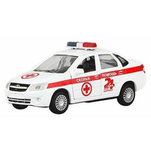 цена на Легковой автомобиль Autotime (Autogrand) Lada Granta скорая помощь (33955) 1:36 белый/красный
