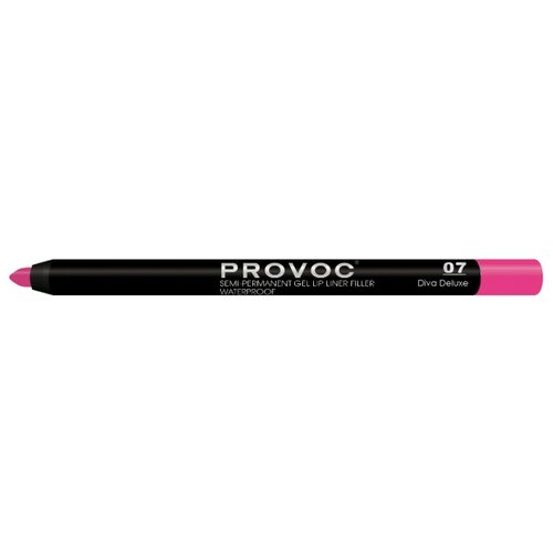 Provoc Гелевая подводка в карандаше для губ Semi-Permanent Gel Lip Liner 07 diva deluxeКонтур для губ<br>