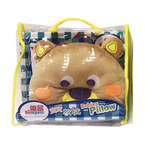 Игрушка-подушка Животные - мишка 7 см