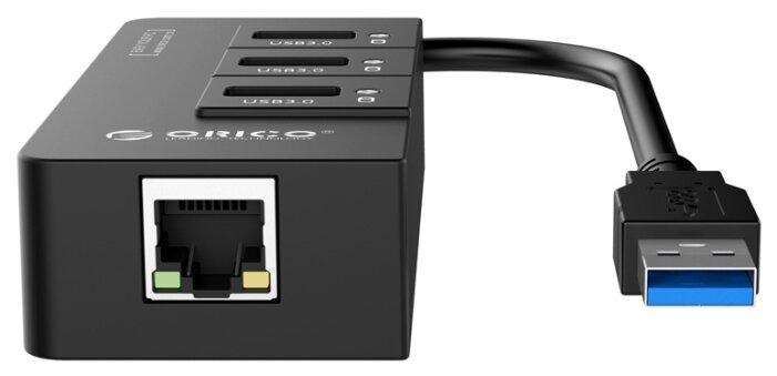 Ethernet-адаптер ORICO HR01-U3-BK