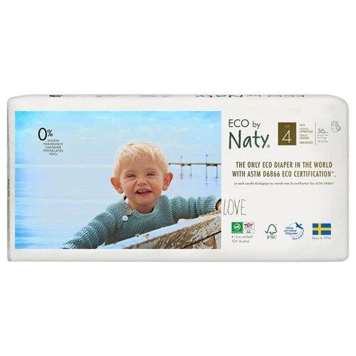 Купить Naty трусики Eco 4 (8-15 кг) 36 шт., Подгузники
