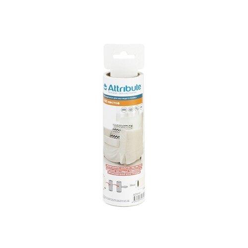 Attribute запасной блок для ролика клеящегося для одежды и мебели ACR160 60 листов белый