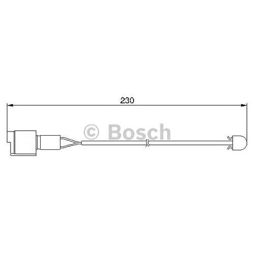 Датчик износа тормозных колодок передний Bosch 1987474910 для BMW 5 series, BMW 6 series, BMW 7 series, BMW 8 series