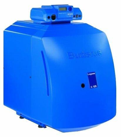Жидкотопливный котел Buderus Logano G125 SE-25 25 кВт одноконтурный