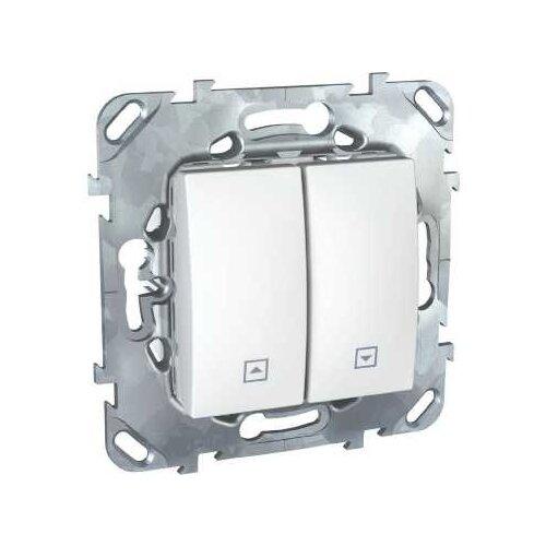 Жалюзийный переключатель Schneider ElectricMGU5.208.18ZD UNICA, 10 А, белый