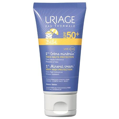 Uriage крем Bebe первый минеральный, SPF 50, 50 мл, 1 шт uriage 50 spf