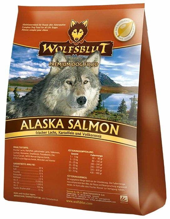Корм для собак Wolfsblut Alaska Salmon (2 кг)
