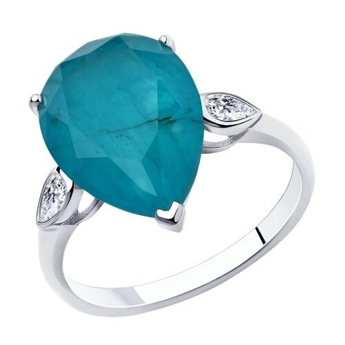 Diamant Кольцо из серебра 94-110-00521-2, размер 17