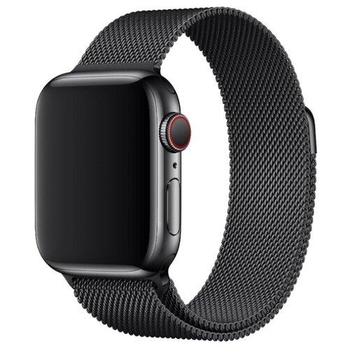 Pastila Ремешок Миланская петля для Apple Watch 38/40 мм черный