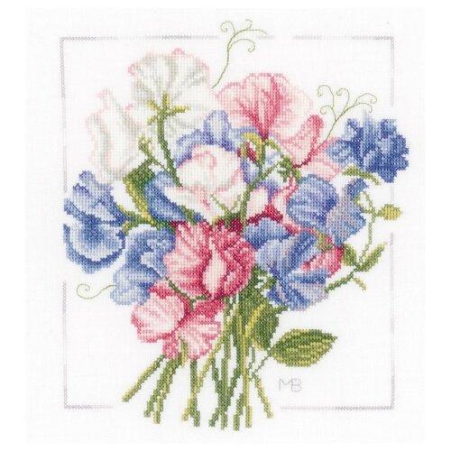 Купить Lanarte Набор для вышивания Красочный букет 25 х 25 см (0157497-PN), Наборы для вышивания