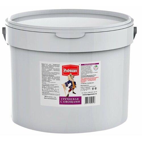 Сухой корм для собак Четвероногий Гурман Гречневая каша моментального приготовления 4 кг