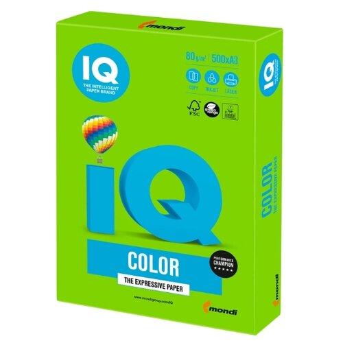Фото - Бумага IQ Color A3 80 г/м² 500 лист. 1шт. бумага iq color a3 80 г м² 500 лист голубой лёд obl70 1 шт