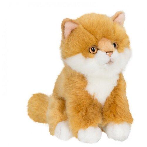 Купить Мягкая игрушка Anna Club Plush Котёнок Сибирский рыжий сидящий 15 см, Мягкие игрушки