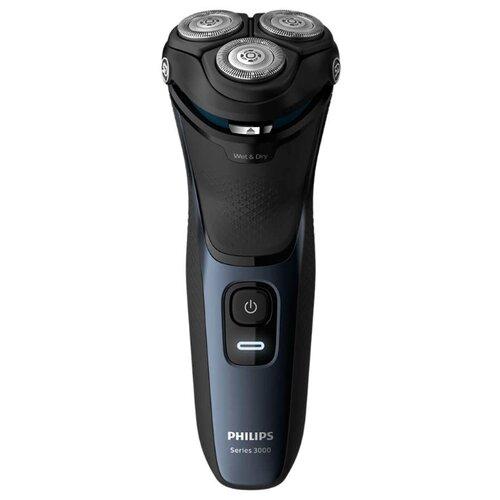 цена на Электробритва Philips S3134 Series 3000 синий шторм