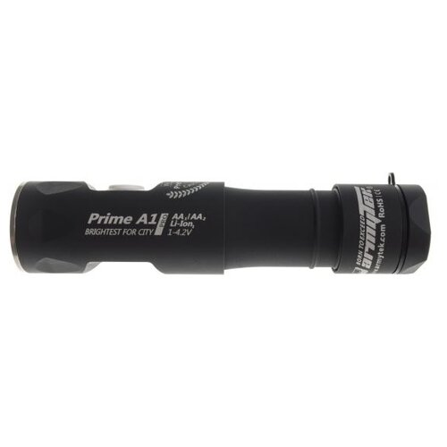 Ручной фонарь ArmyTek Prime A1 Pro v3 XP-L (тёплый свет) черный ручной фонарь armytek prime c1 pro v3 xp l белый свет черный