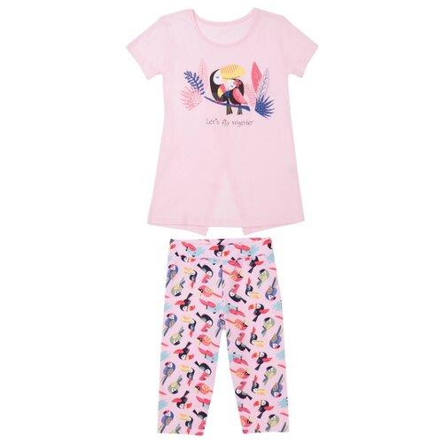 Комплект одежды ALENA размер 122-128, светло-розовый комплект одежды looklie размер 128 134 розовый