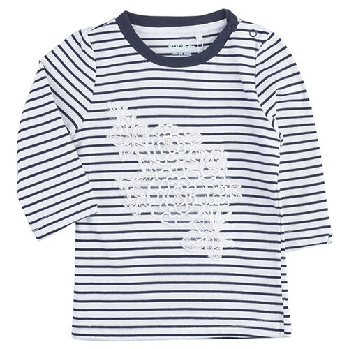 Футболка kari размер 18-24, темно-синий/белыйФутболки и рубашки<br>