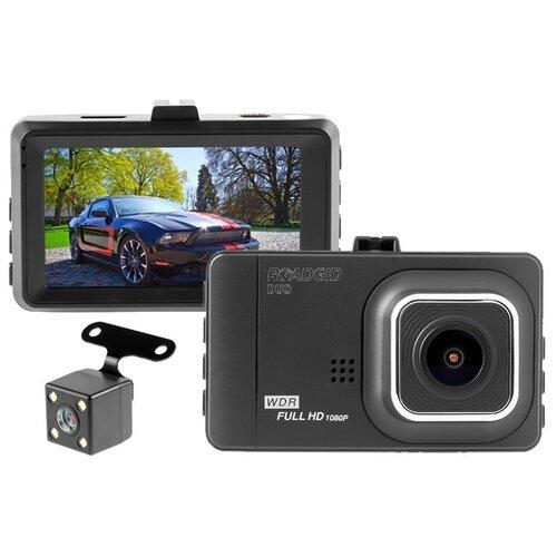 Видеорегистратор Roadgid Duo, 2 камеры черный