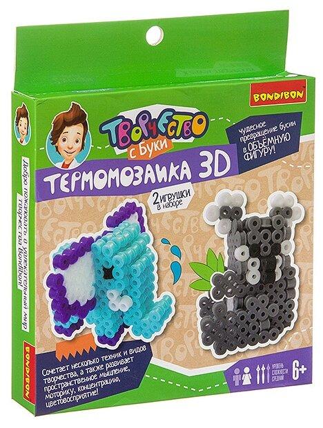 """Термомозаика 3D """"Коала и слон"""" Bondibon"""